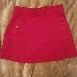 Girl's red skirt size 7